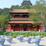 Bonsai im Himeji Garten